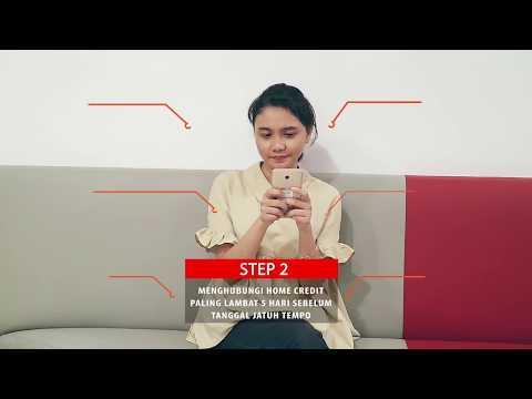 5 Langkah Melunasi Cicilan Home Credit Di Awal Youtube