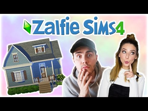 Creating Zoe's House | Zalfie Sims Edition [4]