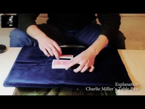 Charlie Miller`s Table Pass - Explanation // A pass everyone can do