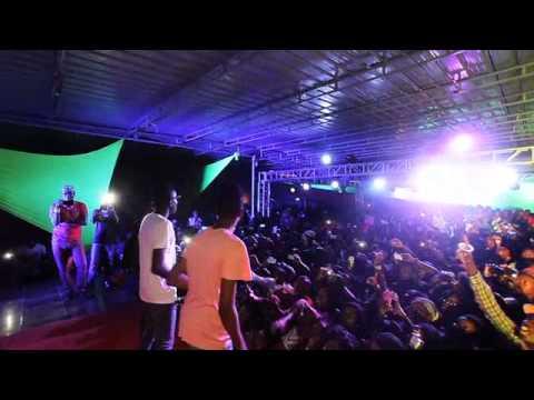 The Twins  Festa da Paz  show Redes Socias show cine Africa