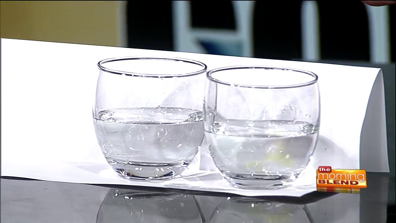 CLEAR tap water doesn't mean CLEAN tap water