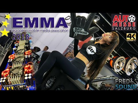 EMMA 2018 Salzburg High End Car audio Show Exclusive Full Review