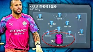 KYLE WALKER GOALKEEPER CHALLENGE! FIFA 20 Career Mode