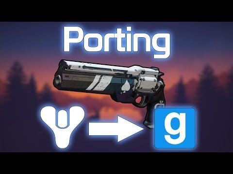Porting Destiny 2 Ace of Spades into Garrys Mod [Timelapse]