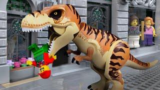 LEGO Dinosaurs 🔴 City Attack -15 🔴 Jurassic World