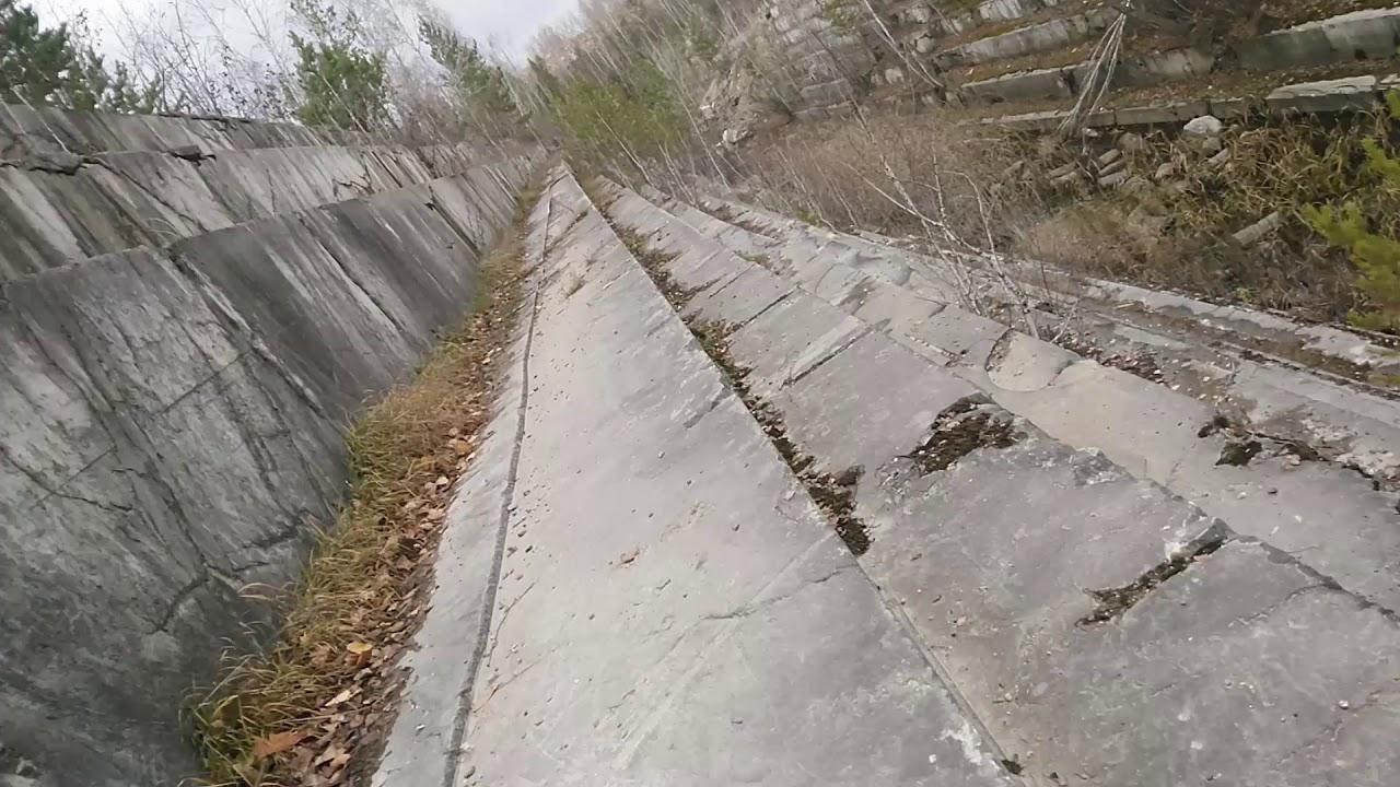 заброшенный мраморный карьер под Новосибирском