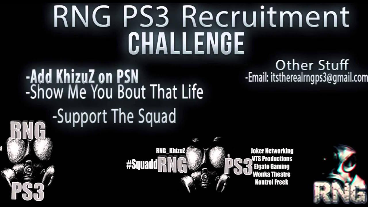 How To Join RNG PS3 - YouTube