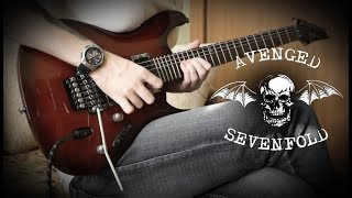 Avenged Sevenfold - As Tears Go By (Guitar Cover w/Solo)