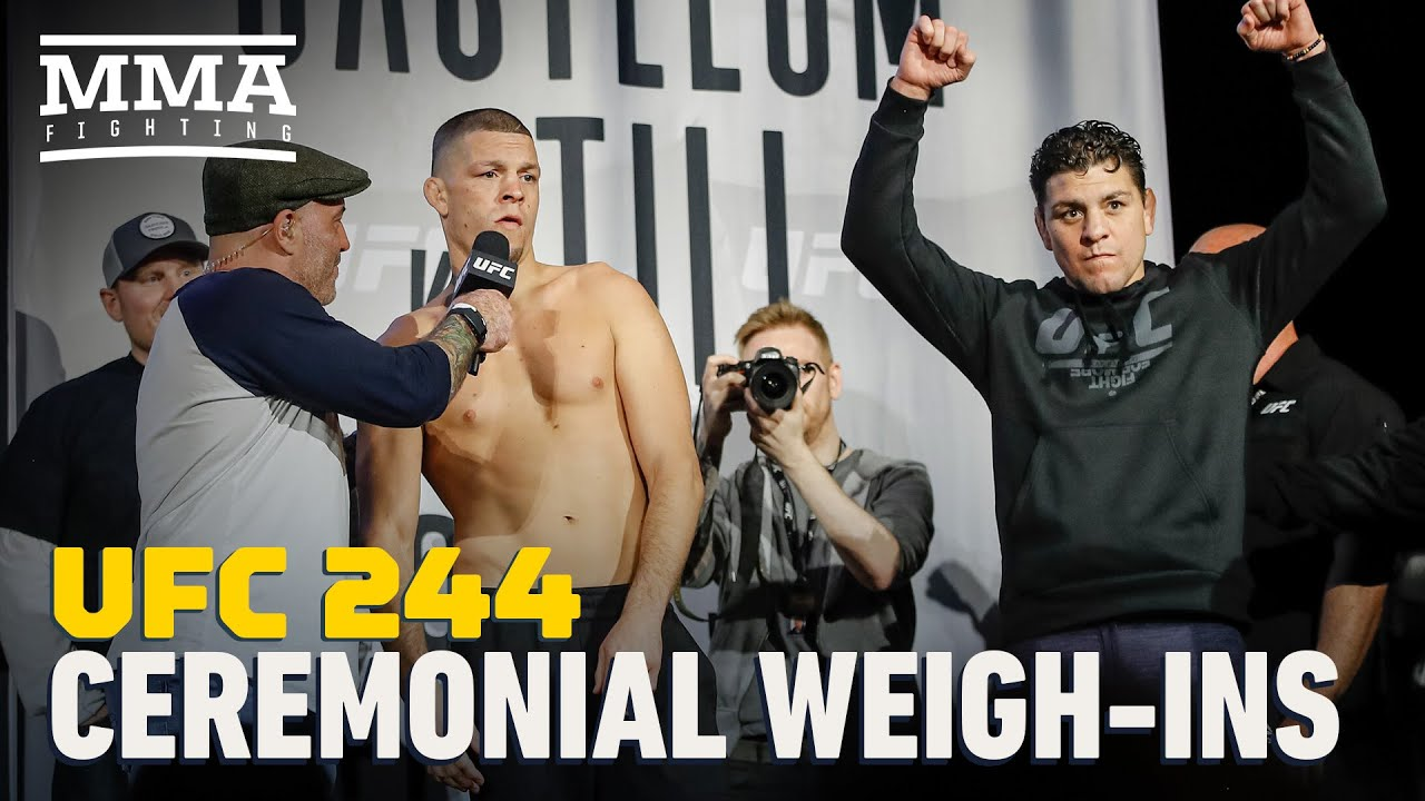 UFC 244 Ceremonial Weigh-In Highlights - MMA Fighting