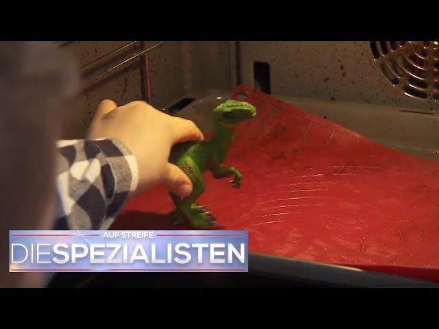 Backofen explodiert: Kinder tun Spielzeug im Ofen!   Die Spezialisten   SAT.1 TV