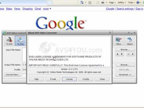 AVS Video Converter Serial - YouTube