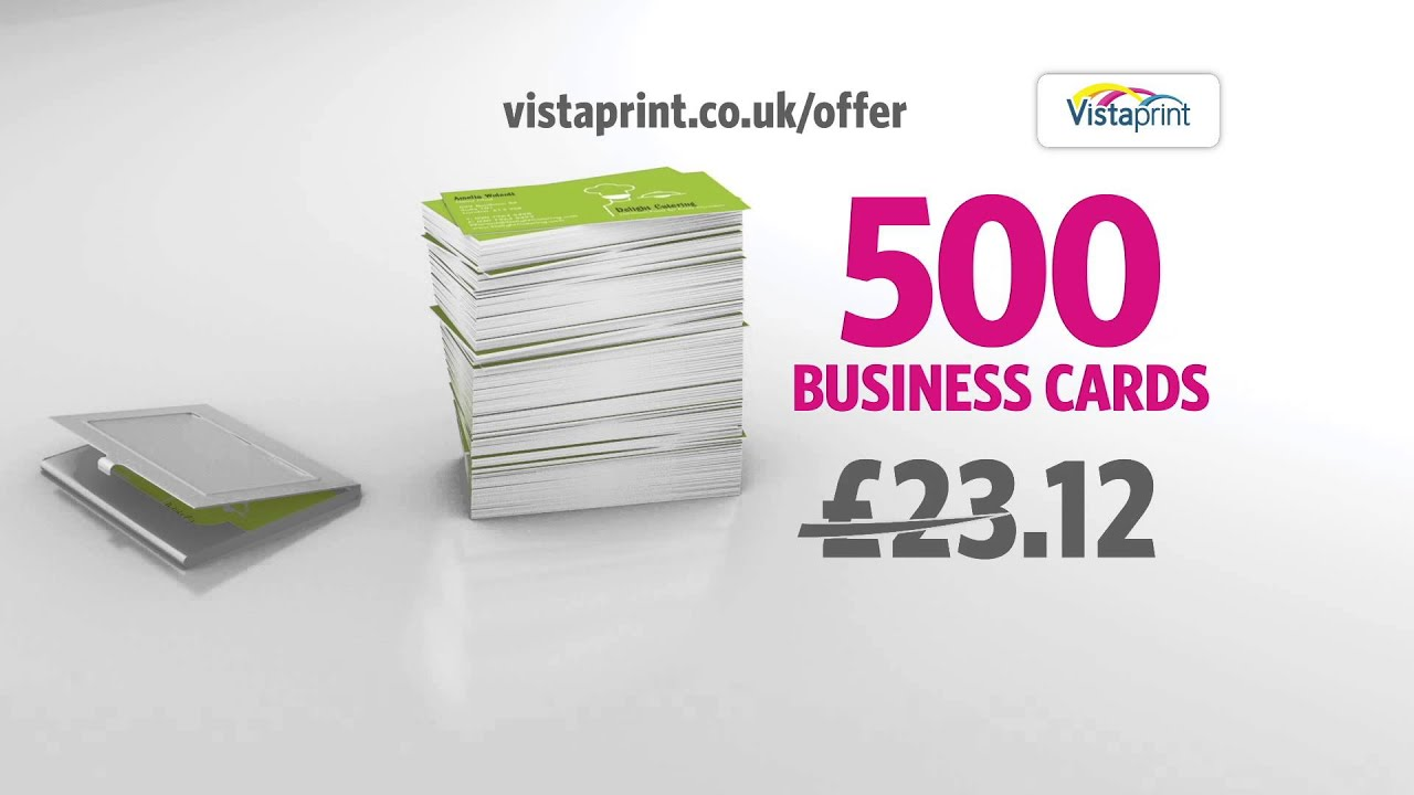 vistaprint tv advert business cards deli shop youtube