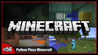 Python Plays Minecraft || Water Clearance, Guardians & Diamonds! || Minecraft Survival PC [#56]