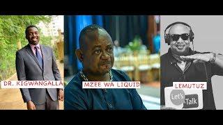 BEEF KALI: Le Mutuz Aendelea Kumponda PIERRE Mzee Wa Liquid, Mhe Kigwangalla Ahusishwa