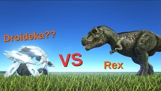 Spawn the defense unit and attack drone ark survival evolved defense unit vs rex spinosaurus and giganotosaurus ark survival evolved malvernweather Images