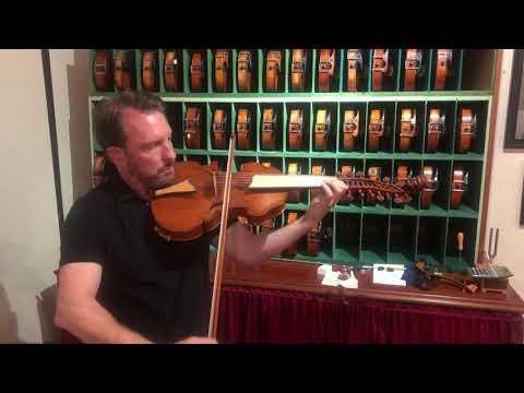 1997 Viola d'amore by Violinmaker Eric Benning