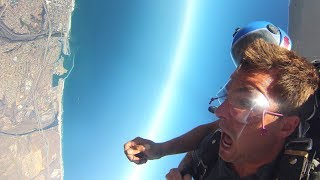 Skydiving Go Jump Oceanside - BillTheThrill