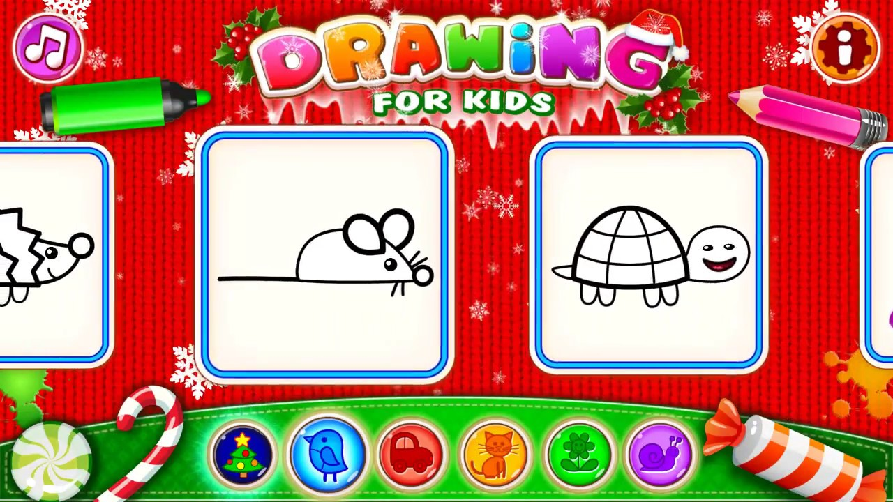 fun drawing apps for toddlers drawing for kids toddlers by bini bambini easy drawings for kids - Drawing Games For Toddlers