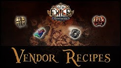 Useful Path of Exile Vendor Recipes for Beginners! | Behind Eyes Gaming