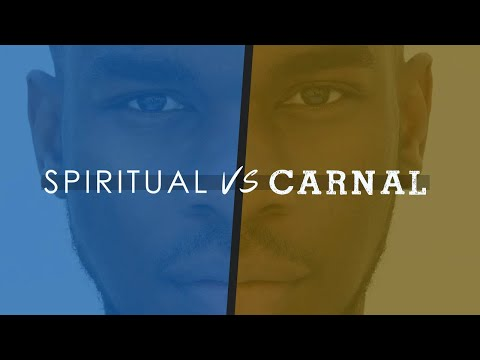 Spiritual v/s Carnal In Handling Crisis - (Hindi) || Godwin Sequeira