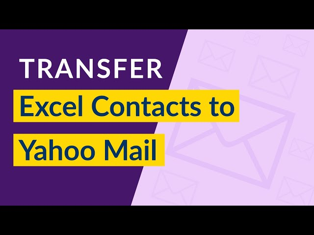 Import Excel Contacts to Yahoo Mail Account – Transfer Excel XLS