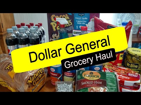 Dollar General Grocery Haul