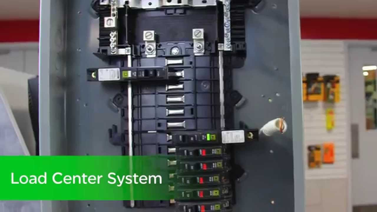 Square D QO - Neutral Load Centers and CAFI Circuit Breakers - YouTube