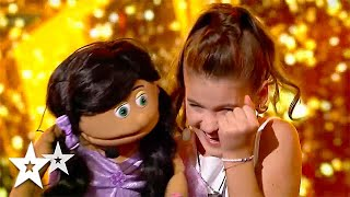 Young VENTRILOQUIST Gets GOLDEN BUZZER on Romania's Got Talent 2021 | Got Talent Global