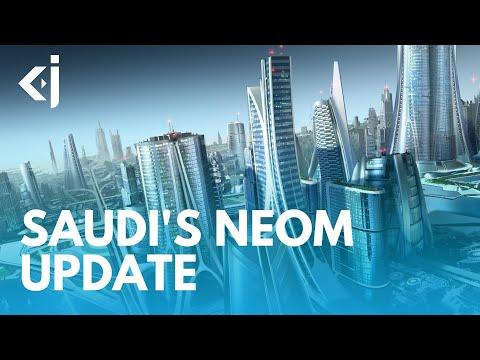 SAUDI'S NEOM Project - 2 Years Later - KJ Vids