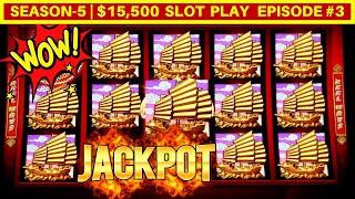 Rising Fortunes Slot Machine HANDPAY JACKPOT w/$8.80 MaxBet | Season-5 | EPISODE #3
