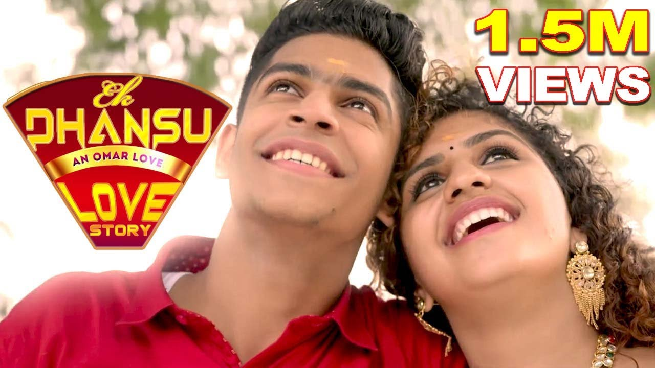 Download Ek Dhansu Love Story - Adaar Love | Hindi Movie 2021| Song - Dil hi Dil me Pyar kiya | Priya Varrier