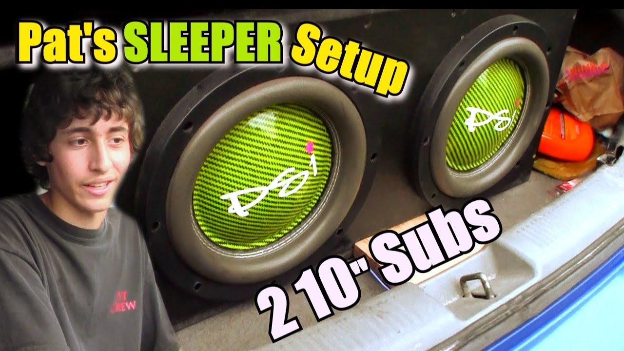 Impressive 10 Quot Subwoofer Setup W Pat S 2 Audioque Subs On