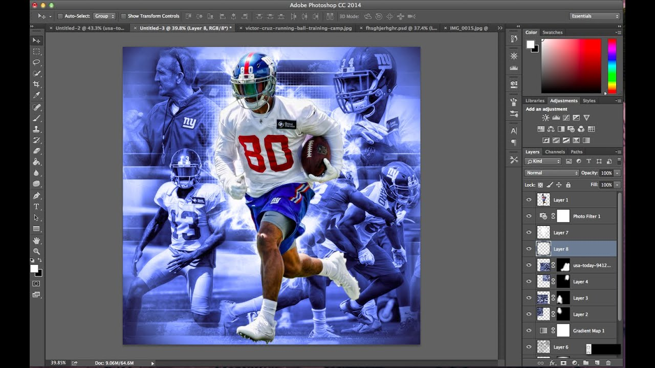 Sports Edit Iphone Wallpaper: How To Make A Dope Complex Sports Edit On Photoshop Victor