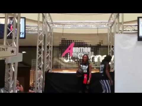 Audition America August 7, 2013 West ridge Mall Topeka KS