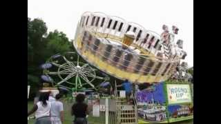 Cottage Grove WI Carnival Fair Midway Walk