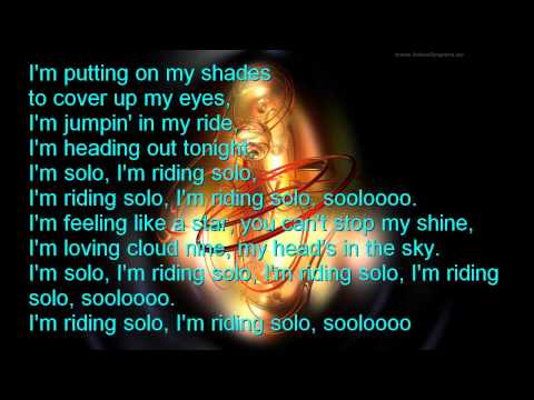 Jason Derulo - Riding Solo Clean With Lyrics (No Swearing, DJ Rugster Edit)
