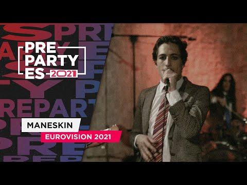 Maneskin – Zitti e buoni – Italia 2021 🇮🇹 | PrePartyES21