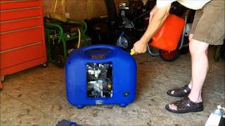 Hyundai 2000si generator old start