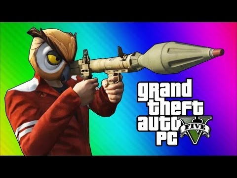 Thumbnail: GTA 5 PC Online Funny Moments - Action Replay, Slow Motion, Highway Stunt!