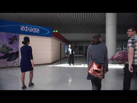 INSIDE NORTH KOREA | WALK THROUGH SUNAN INTERNATIONAL AIRPORT
