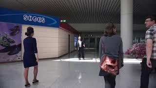 INSIDE NORTH KOREA   WALK THROUGH SUNAN INTERNATIONAL AIRPORT