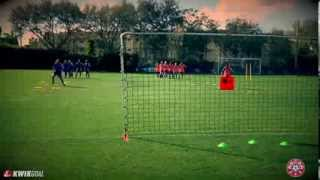 Agility Course With Rebounder: Nscaa Technical Training Series Presented By Kwik Goal