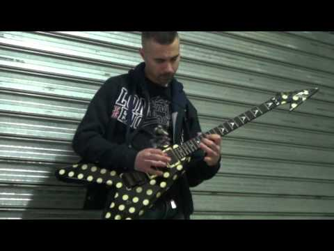 Megadeth - My last words GUITAR SOLO COVER