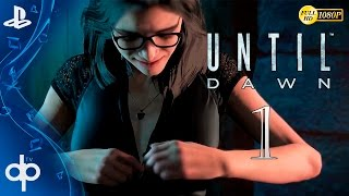 Until Dawn Parte 1 Gameplay Español - PS4 1080p | Prologo Capitulo 1 y 2