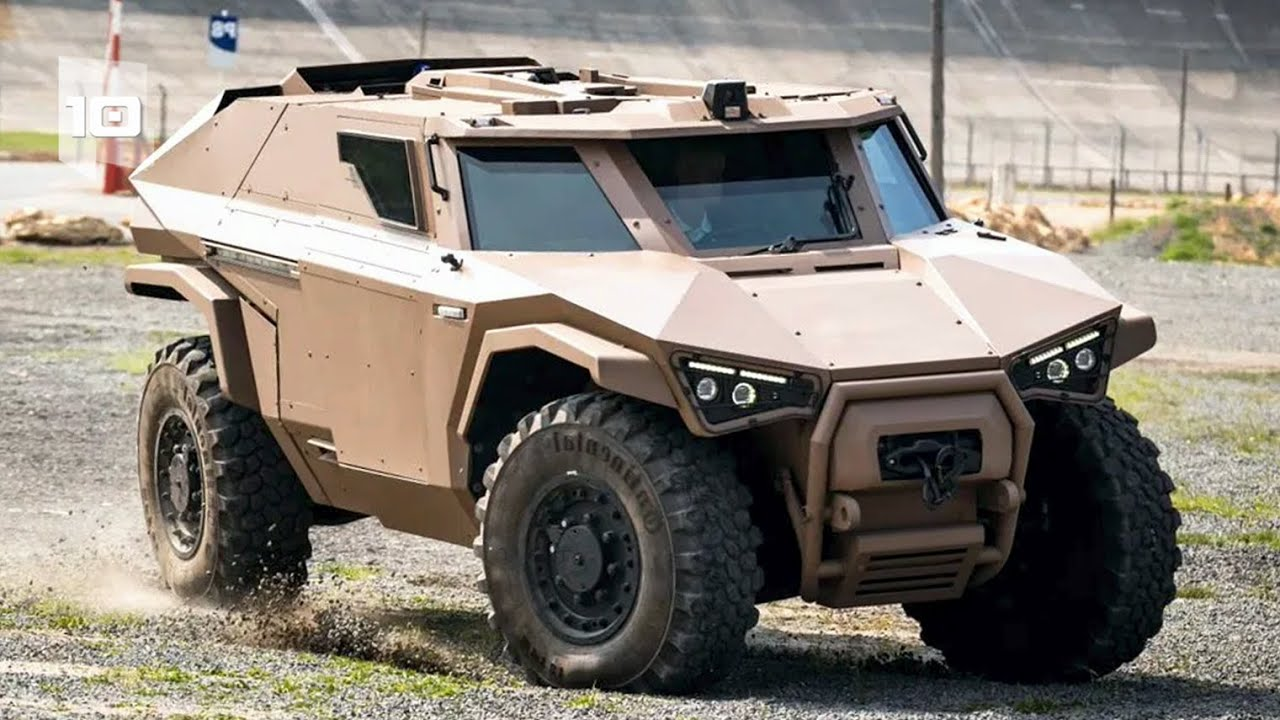 Top 10 Most Amazing Armored Military Vehicles in the World. Part 4