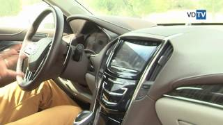 Cadillac ATS обзор AS тест драйв VDTV