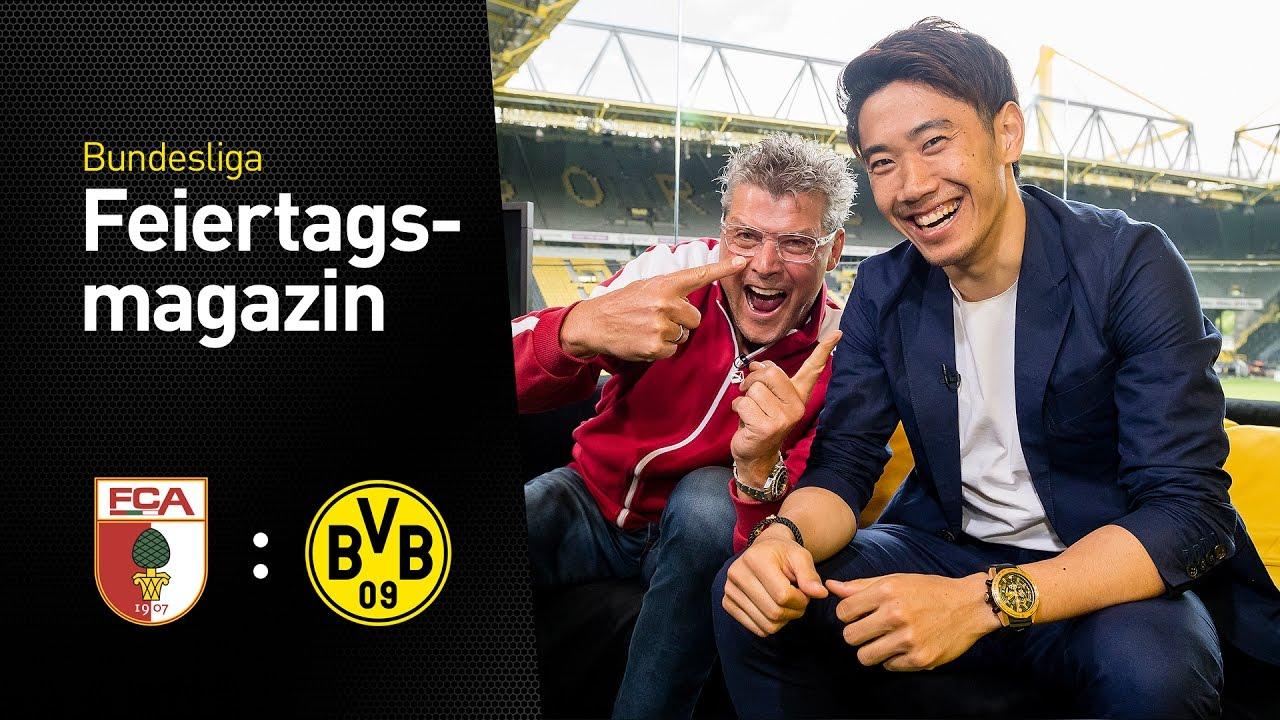 Das Feiertagsmagazin mit Shinji Kagawa | FC Augsburg - BVB