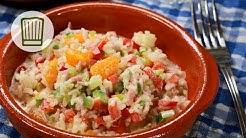 Reissalat als Party-Salat oder Grill-Beilage Rezept #chefkoch