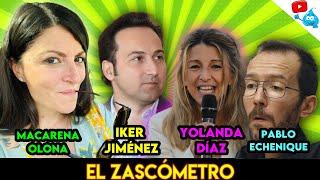 MACARENA OLONA, YOLANDA DÍAZ, IKER JIMÉNEZ, ECHENIQUE y más - EL ZASCOMETRO #58💥