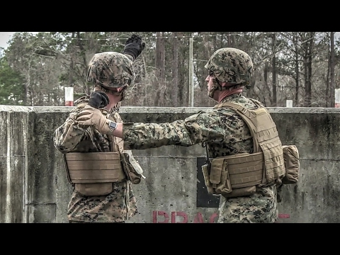 Marines Live Grenade Training and Assault Course